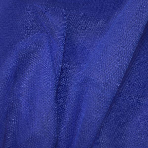 Nylon Dress Net Empire Blue