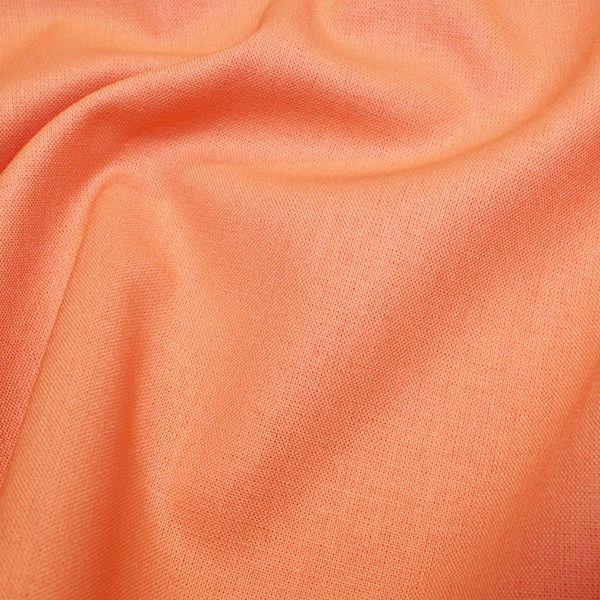 Rose & Hubble Cotton Fabric Salmon