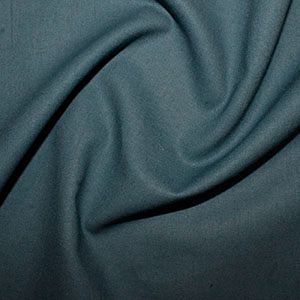 Rose & Hubble Cotton Fabric Teal