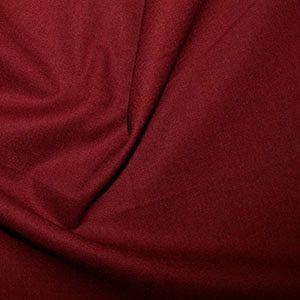 Rose & Hubble Cotton Fabric Claret