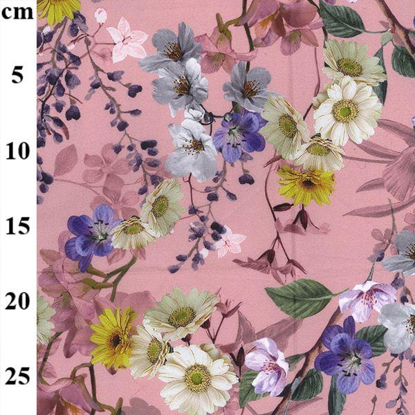 Cotton Lawn Florals Rose