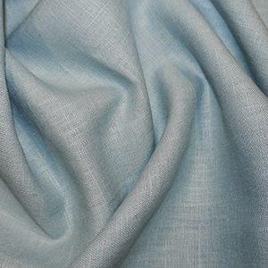 Linen Fabric Aqua