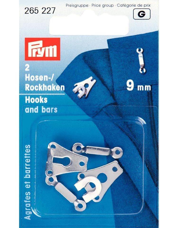 Prym Hook & Bar 9mm Silver