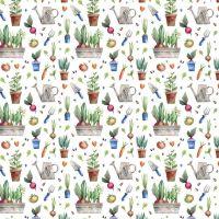 Cotton Fabric Garden