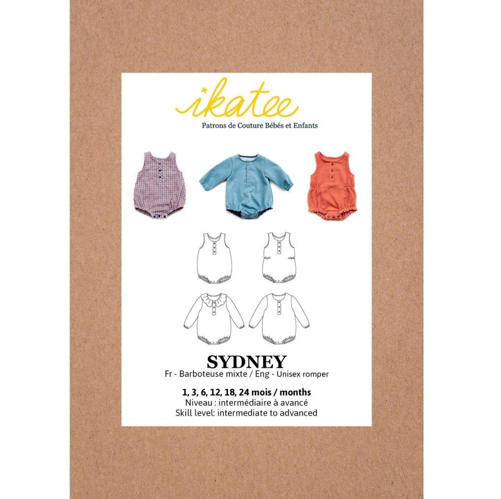 Ikatee Sewing Pattern Baby 6M/4Y Sydney Romper