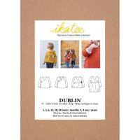 Ikatee Sewing Pattern Baby 6M/4Y Dublin Cardigan or Dress
