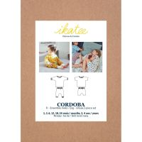 Ikatee Sewing Pattern Baby 6M/4Y Cordoba Jogging Or Pyjama Set