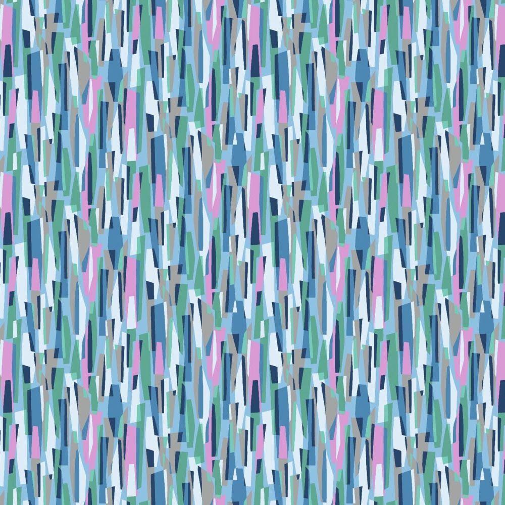 Dashwood Studio Cotton Lawn Kaleidoscope Ace Dashes Blue