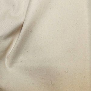 Rose & Hubble Cotton Fabric Natural Seeded