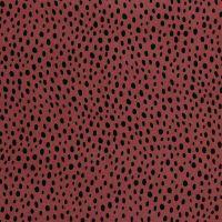 Viscose Fabric Dots Wine