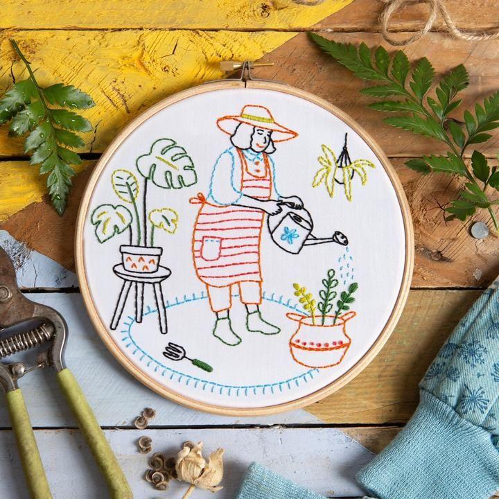 Wonderful Women Grow Embroidery Kit Hawthorn Handmade
