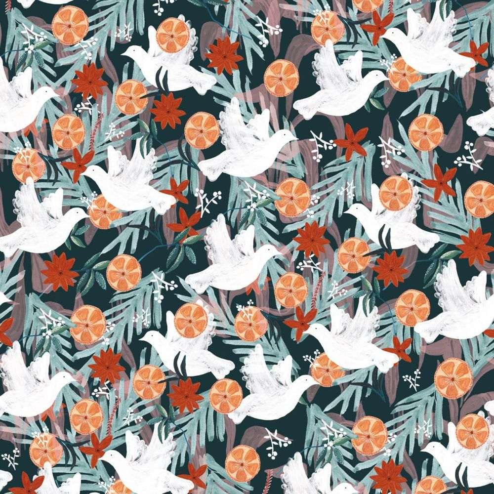 Dashwood Studio Cotton Fabric Spice Dove
