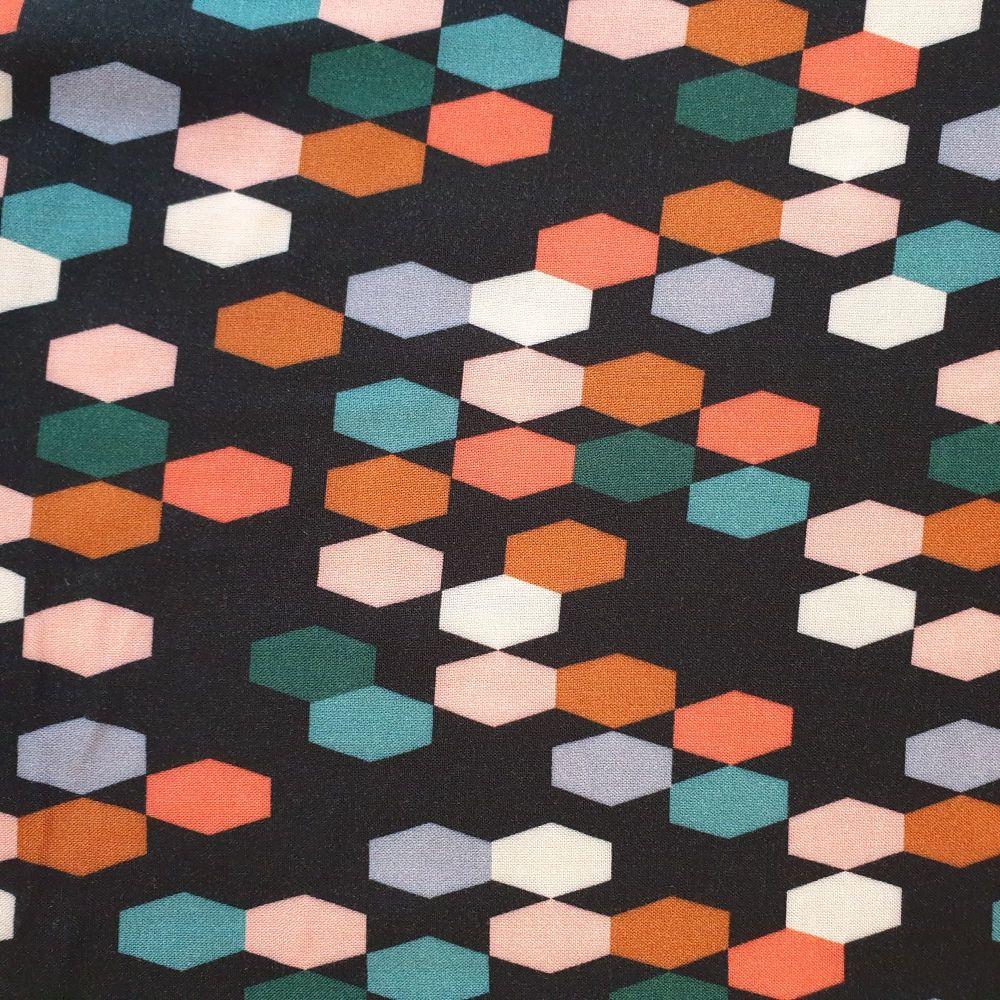 Dashwood Studio Bold & Bloom Rayon Fabric Shapes