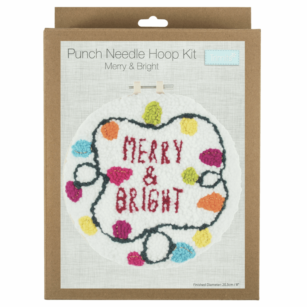 Punch Needle Kit Merry & Bright