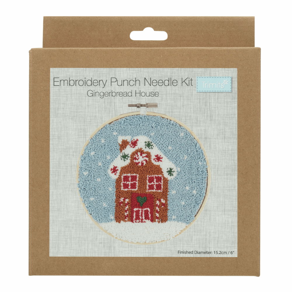 Punch Needle Kit Gingerbread House