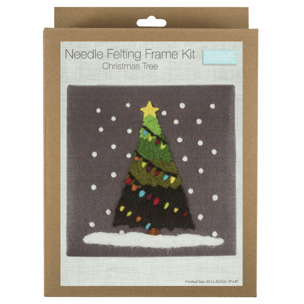 Needle Felting Kit Christmas Tree