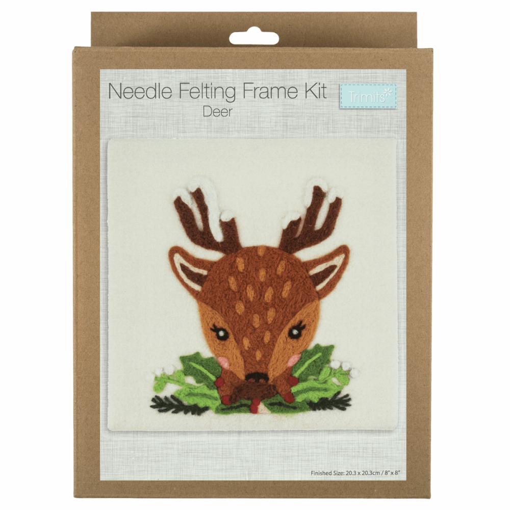 Needle Felting Kit Reindeer