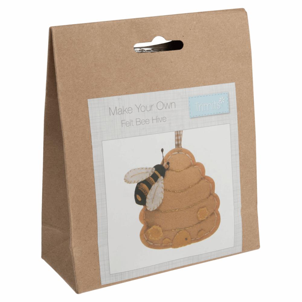 Felt Sewing Kit Bee Hive