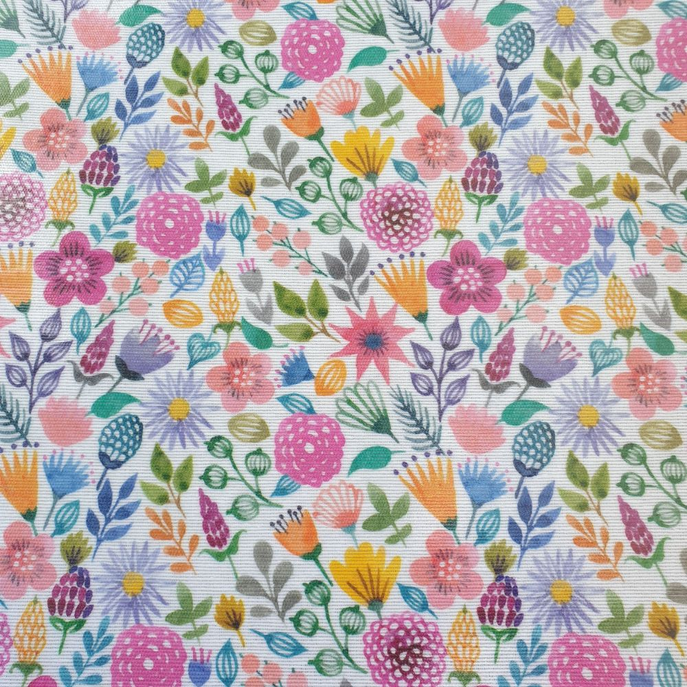 Oilcloth Fabric Flowers