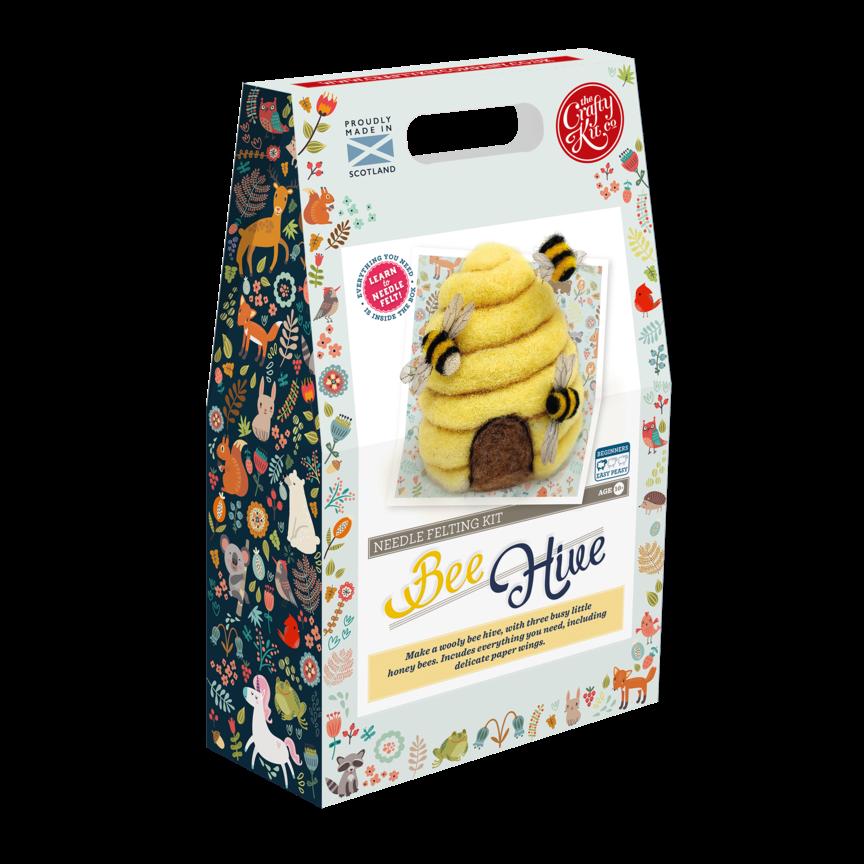 Crafty Kits Bee Hive Felting Kit