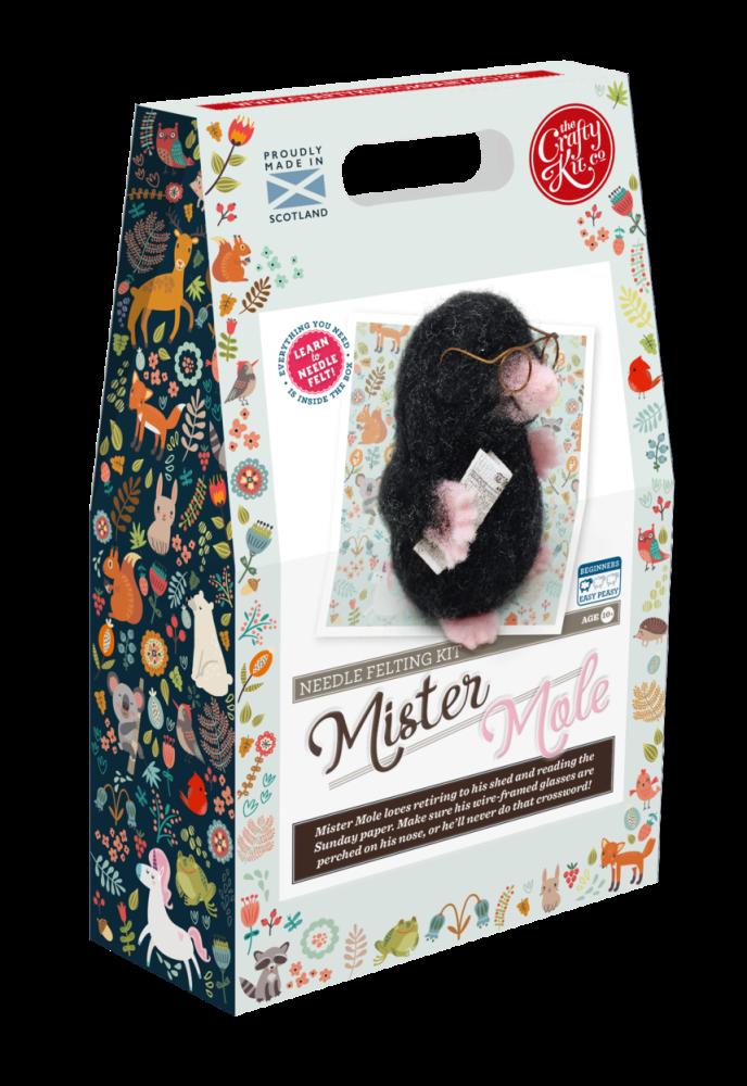 Crafty Kits Mr Mole Needle Felting Kit