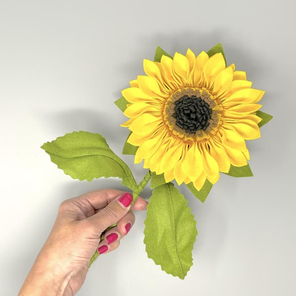Crafty Kit Felt Sunflower