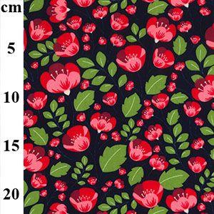 Cotton Poplin Fabric Tulips