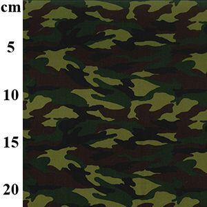 Cotton Poplin Fabric Camouflage