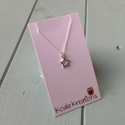 Twinkle little star necklace