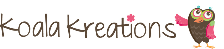 koala kreations, site logo.