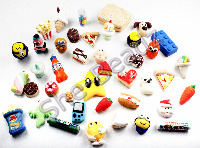 Fimo Polymer Clay Charms and Beads