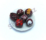 Chocolate Truffles on a Plate Pk 1