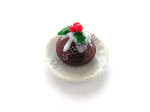 Christmas Pud on a Plate Pk 1