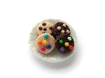 Mixed Cookie Biscuits on a Plate Pk 1