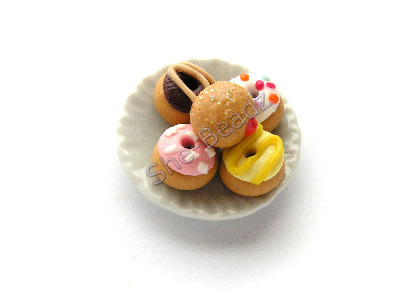 Mixed Donuts on a Plate Pk 1