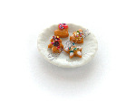 Mixed Christmas Biscuits on a Plate Pk 1