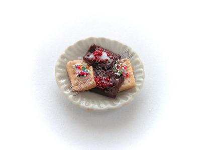 Christmas Pop Tarts on a Plate Pk 1