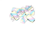 Fimo Pastel Coloured Flump Marshmallow Charm Beads Pk 10