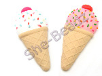 Fimo Mega Ice Cream With Sprinkles Pendant Large Pk 2