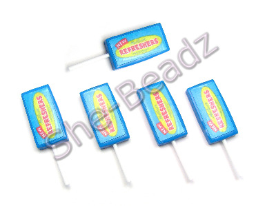 Fimo Refresher Lolly Pendants Pk 5