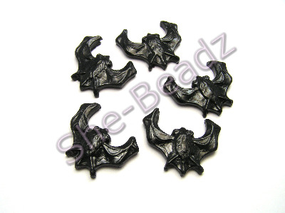 Fimo Large Bat Charms Pk 10