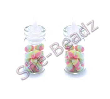 Miniature jar of Multicoloured Flumps Pk 2 Jars