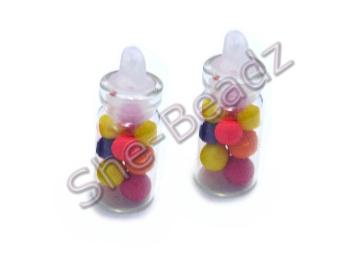 Miniature jar of Smarties Pk 2 Jars