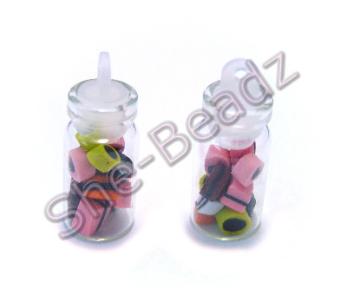 Miniature jar of Liquorice Allsorts Pk 2 Jars