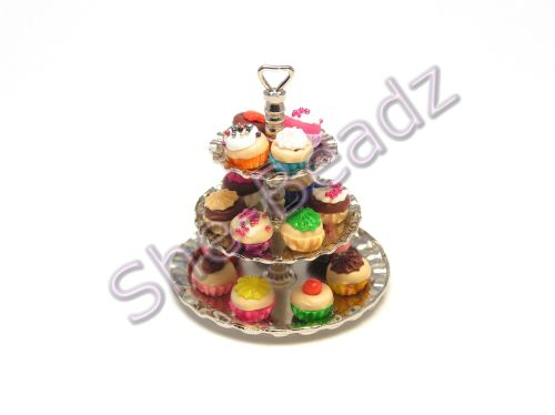 Minature 3 Tier Cup Cake Stand Pk 1