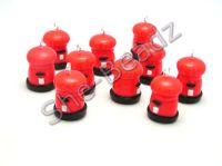 Fimo Post Box Charms (Tiny 3D) Pk 10