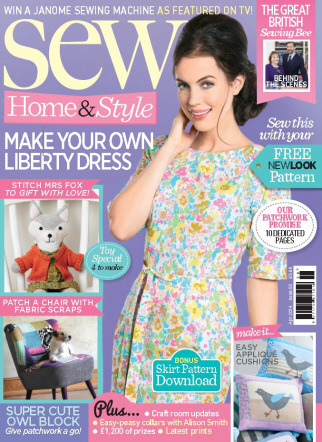 sew magazine april 2014