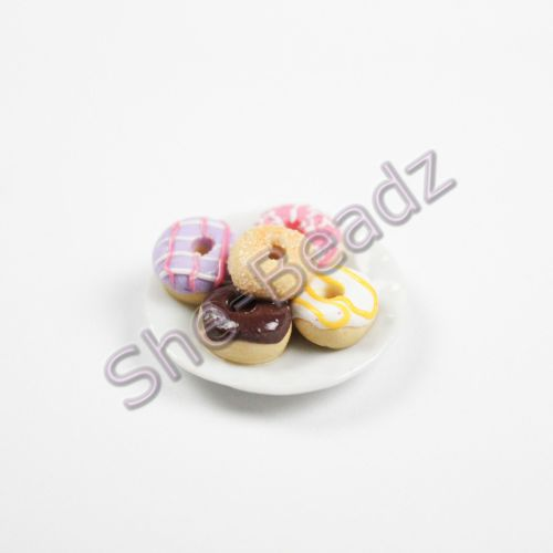Minature Donuts on a Plate Pk 1