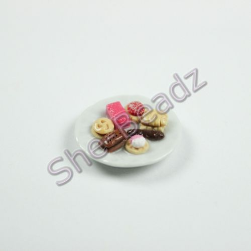 Minature Family Favourite Biscuits on a Plate Pk 1