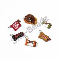 Fimo Miniature Artisan Chocolate Bar Charms Pk 1